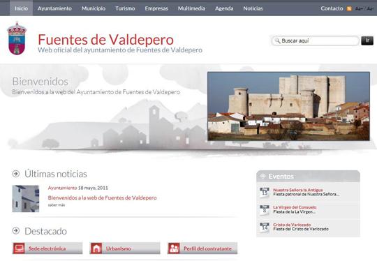 Bienvenidos a la web de Fuentes de Valdepero