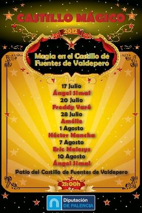 Magia en el Castillo de Fuentes de Valdepero